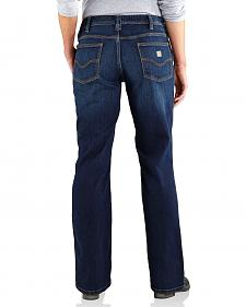 Carhartt Women's Relaxed Fit Dark Indigo Jasper Jeans