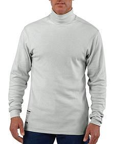 Carhartt Flame Resistant Long Sleeve Grey Mock Turtleneck