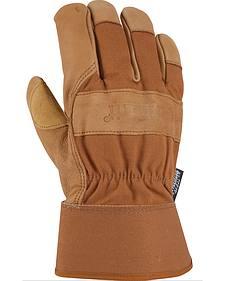 Carhartt Men's Insulated Grain Leather Work Gloves