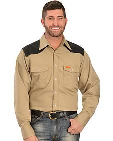 Wrangler Western FR Lightweight Work Shirt