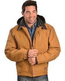 Dickies Sanded Duck Detachable Hooded Jacket