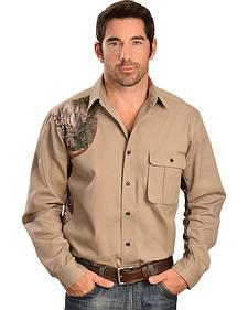 Wrangler ProGear Realtree Xtra Twill Shooter Shirt