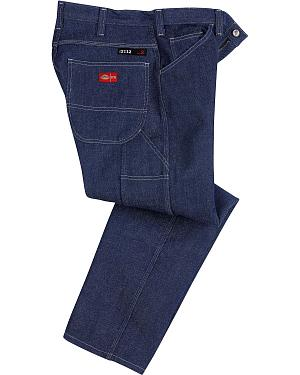 Dickies Relaxed Straight Leg Flame-Resistant Carpenter Jeans