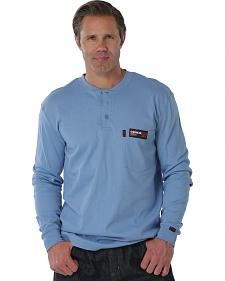 Cinch WRX Flame Resistant Blue Shirt