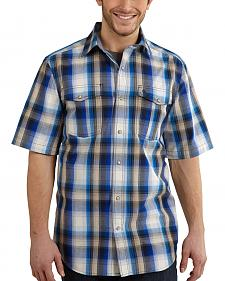 Carhartt Bozeman Short Sleeve Plaid Work Shirt