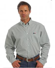 Cinch WRX Flame-Resistant Windowpane Plaid Shirt