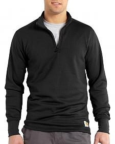 Carhartt Men's Base Force Super-Cold Weather Quarter-Zip Top - Big & Tall