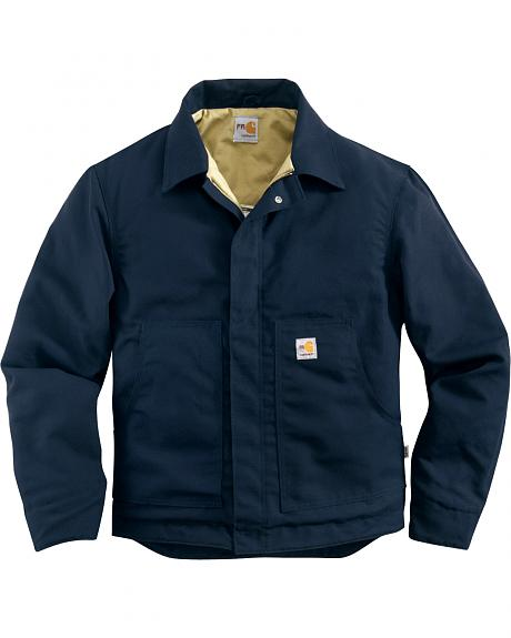 Carhartt Men's Flame-Resistant Canvas Dearborn Jacket