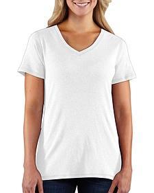 Carhartt Women's Calumet V-Neck T-Shirt