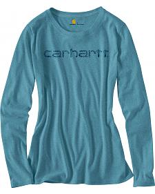 Carhartt Women's Signature Long Sleeve T-Shirt