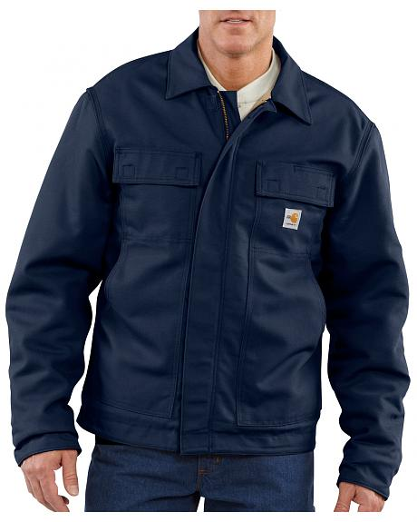 Carhartt Flame-Resistant Lanyard Access Quilt-Lined Jacket - Big & Tall