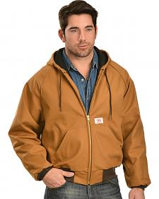 Round House Hooded Duck Work Jacket