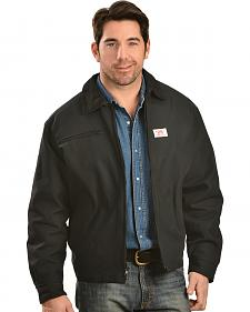 Round House Black Oklahoma Duck Front Zipper Pocket Jacket