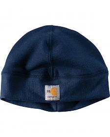 Carhartt Men's Navy Flame-Reistant Fleece Work Hat