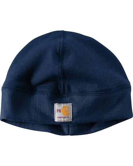 Carhartt Men's Navy Flame-Reistant Fleece Work Hat