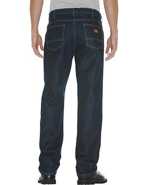 Dickies Mens 5-Pocket Relaxed Fit Jeans