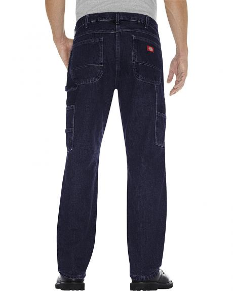 Dickies Men's Relaxed Fit Double Knee Carpenter Jeans