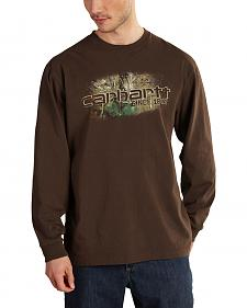 Carhartt Men's Workwear Graphic Camo 1889 Long Sleeve T-Shirt