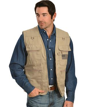 Classic Old West Conceal and Carry Field Vest