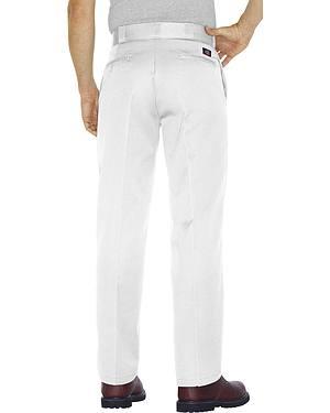 Dickies Mens Original 874 White Work Pants