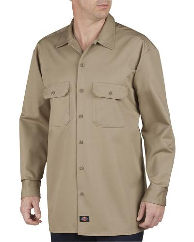 Dickies Heavyweight Cotton Work Shirt Big and Tall Western & Country 549KH X
