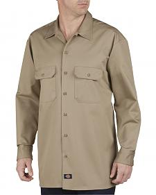 Dickies Heavyweight Cotton Work Shirt - Big and Tall