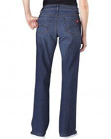 Dickies Women's Relaxed Fit Stretch Denim Jean