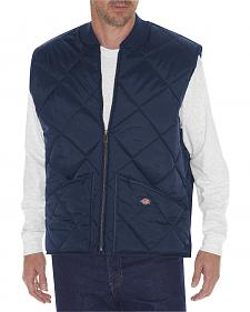 Dickies Men's Diamond Quilted Nylon Vest - 3XL