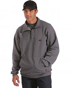 Cinch WRX Grey Long Sleeve Flame Resistant Pullover