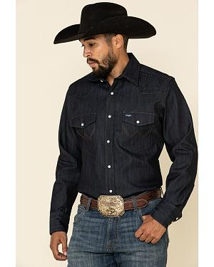 Wrangler Denim Advanced Comfort Work Shirt