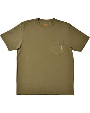 Timberland Mens Base Plate Blended T-Shirt