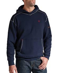 Ariat Flame-Resistant Navy Polartec Hoodie