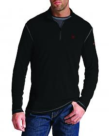 Ariat Men's Fire-Resistant Polartec 1/4-Zip Baselayer Shirt