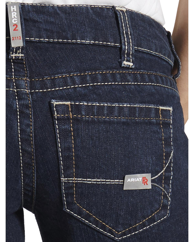 Ariat Women/'s Fire-Resistant Bootcut Work Jeans 10016177