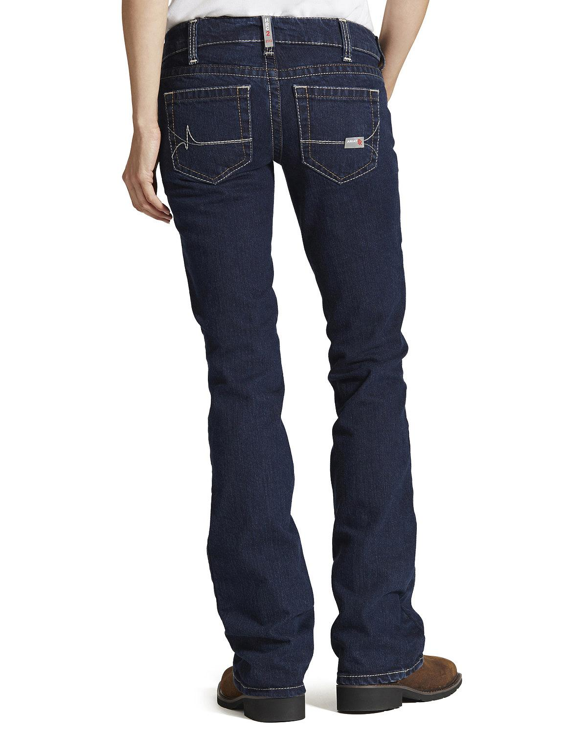 Ariat Women's Fire-Resistant Bootcut Work Jeans - 10016177 | eBay