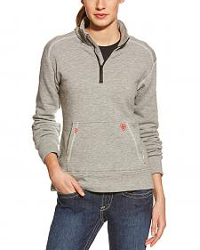 Ariat Flame Resistant Women's Quarter Zip Fleece