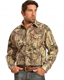 Gibson Trading Co. Men's Camo Long Sleeve Work Shirt