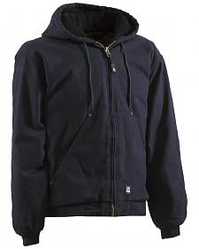 Berne Original Washed Hooded Jacket - Quilt Lined - 5XL and 6XL