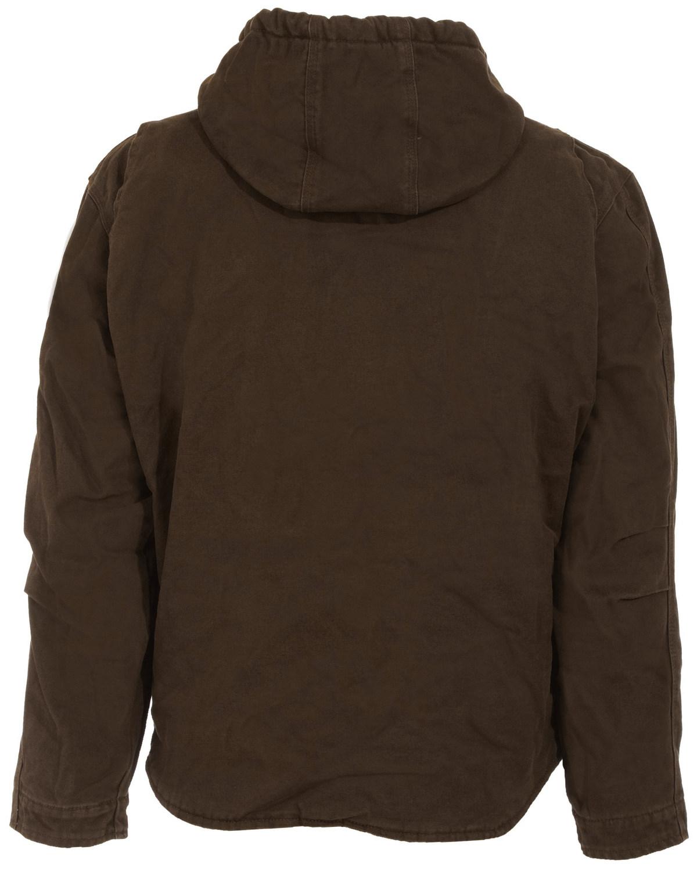 HJ626ODR Berne Washed Hooded Work Coat