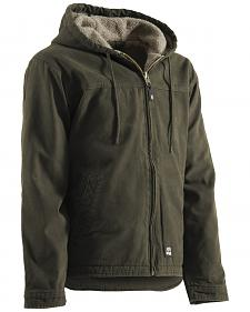Berne Washed Hooded Work Coat - XLT and 2XT