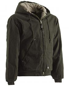 Berne High Country Hooded Jacket - Sherpa Lined