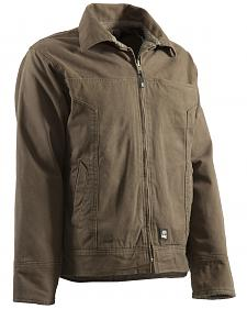 Berne Hickory Washed Aviator Jacket - Tall 2XT