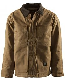 Berne Brown Duck Original Chore Coat - Tall 2XT