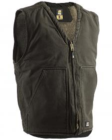 Berne Washed V-Neck Vest