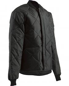 Berne Black Original All-Quilt Jacket