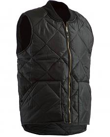 Berne Black Original All Quilt Vest