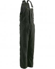 Berne Bark Original Washed Insulated Bib Overalls - Tall