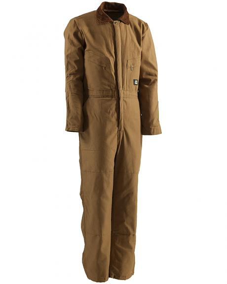 Berne Duck Deluxe Insulated Coveralls - Short 3XL and Short 4XL