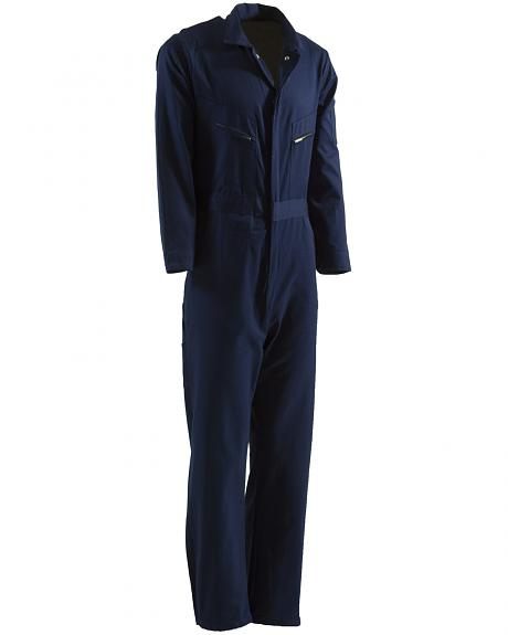 Berne Navy Deluxe Unlined Coveralls - 3XL