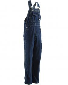 Berne Dark Stonewash Original Unlined Washed Denim Bib Overalls - Big (56 - 60)
